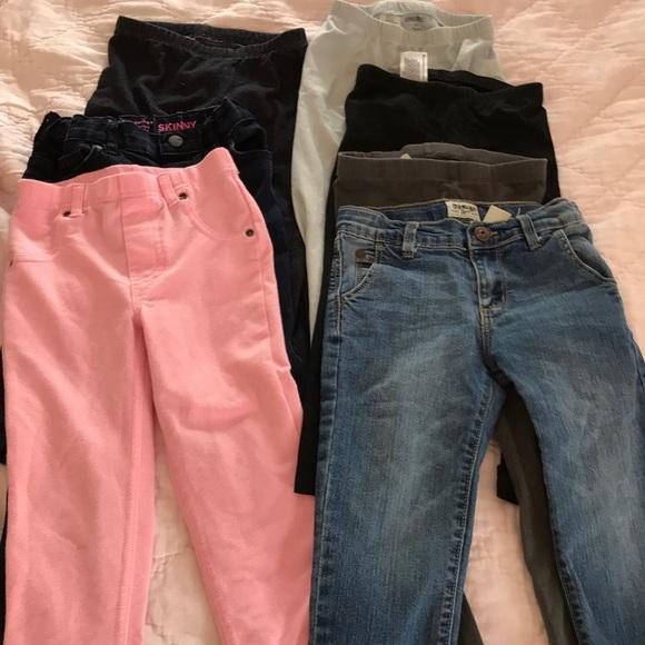 OshKosh B'gosh Other - ☀️ Lot of 4T jeans and leggings Gymboree & more!
